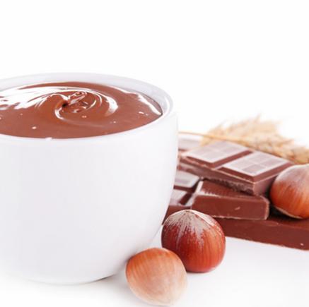 Nutella crumble bar