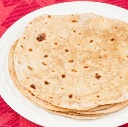 Chapatti, Indian flat bread