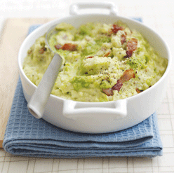 Pea and Potato Mash