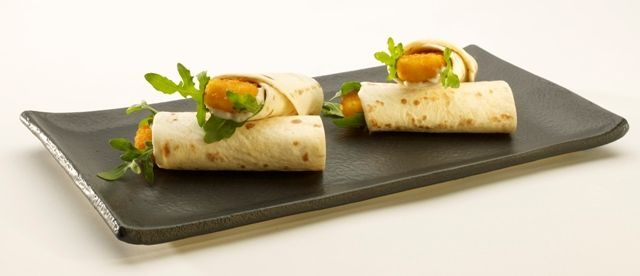 Fish finger wraps