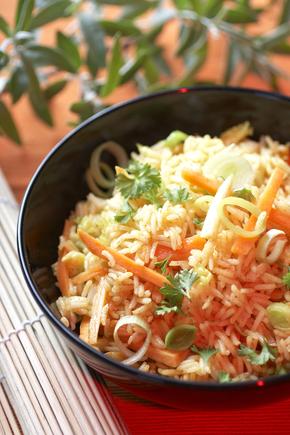 Perfect Monday night rice