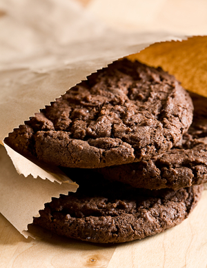 American chocolate chunky cookies