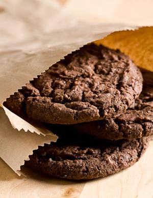 American chocolate chunky cookies
