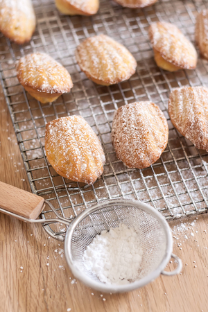 Sugar-coated cookies