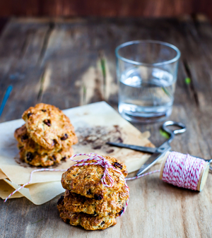 Freezer oat biscuits