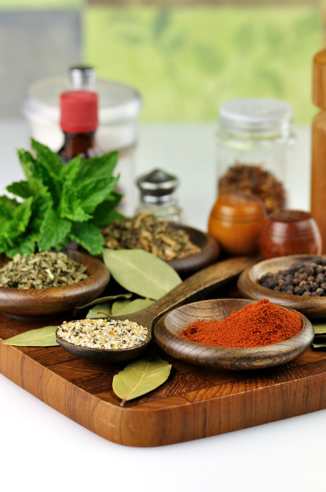 Homemade curry spices