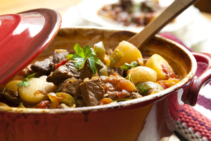 Easy family tagine