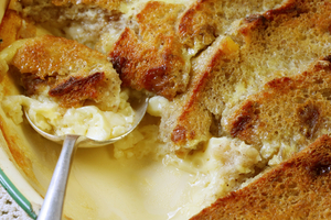 Easy classic bread pudding