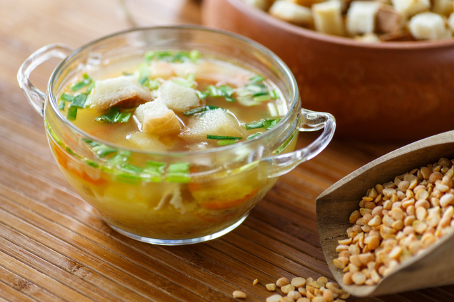 Garbure, French country bread and broth