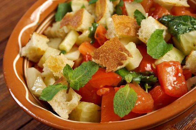 Panzenella salad