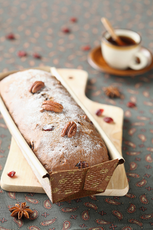 Walnut, and honey cake
