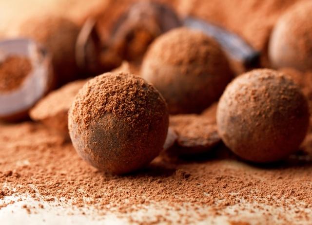 Gluten-free chocolate truffles