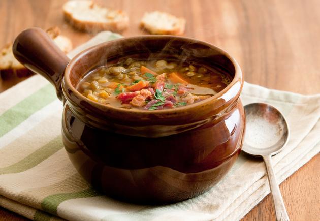 Heart-warming lentil stew