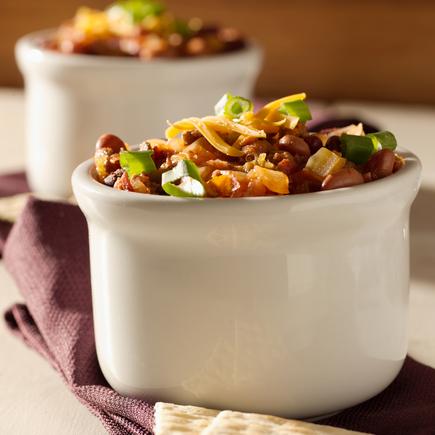 Spicy Mexican bean salad