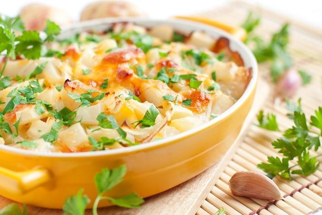 Sweet potato savoury pie