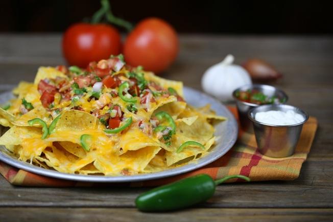 Light weight nachos