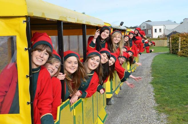 Santa Train at Rathwood