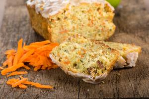 Gluten-free carrot loaf