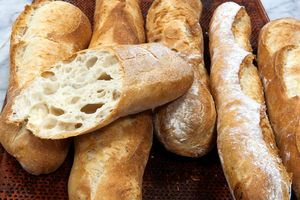 Gluten-free french baguettes