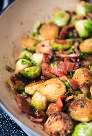 Vegetable and ham hash