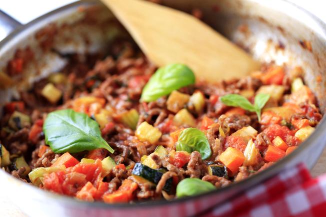Vegetable bolognaise boost