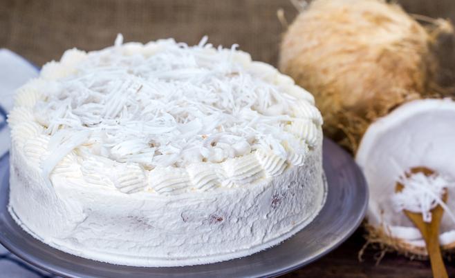 Coconut ultimate cream cake
