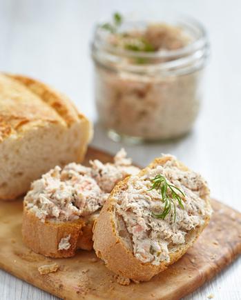 Christmas mackerel pâté