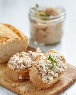 Christmas mackerel pâté