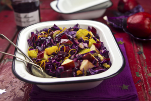 Seasonal spiced cabbage