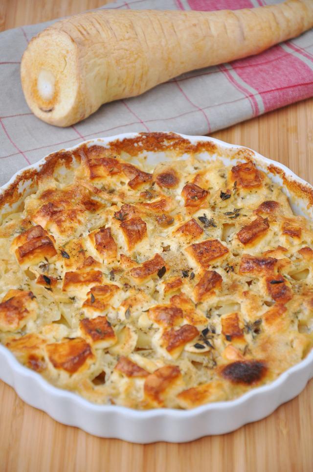 Root vegetable bake