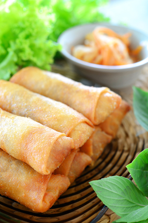 Simple spring rolls