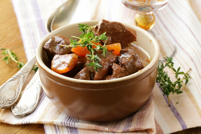 Beef with vegetable casserole