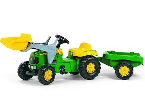 Rolly Kid JD Tractor/ Loader/ Trailer
