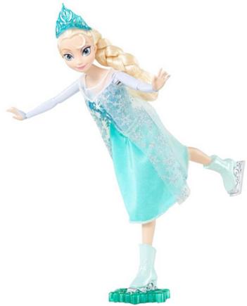 Frozen Elsa Ice Skating Doll