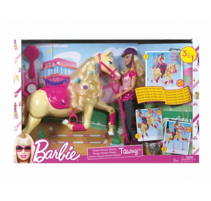 Barbie Tawny Horse