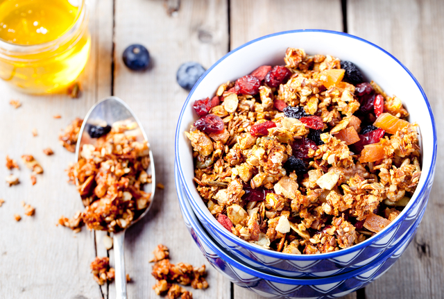 Detox morning muesli