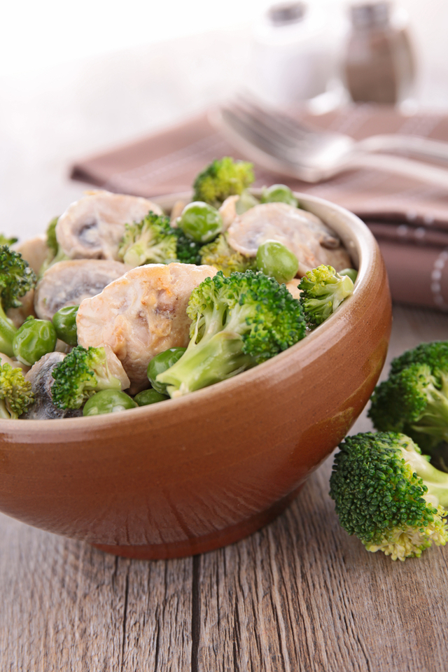 Chicken With Chickpea And Broccoli One Pot  Mummypages -5882