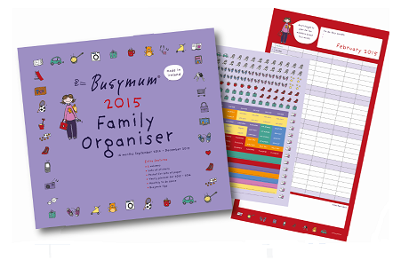 Busy Mum Family Organiser