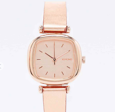 Komono Moneypenny Watch in Rose Gold