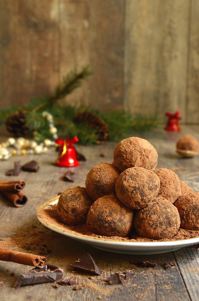 Mixed truffles
