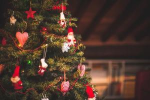 Incredible celebrity Christmas trees