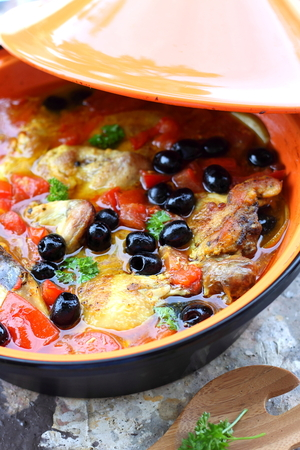 Chicken and vegetable one pot