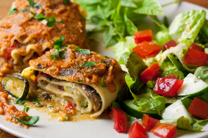Slow cooked lasagne