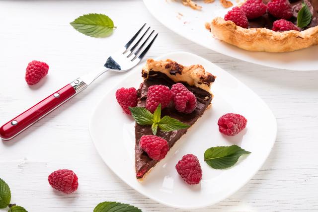 No hassle, no bake chocolate tart