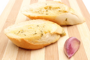 Grilled garlic French bread