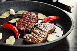 Garlic and chilli beef