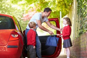 Car safety when driving your child to school