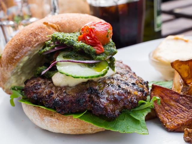 Italian style burgers