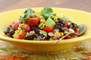 Vegetarian Mexican salad