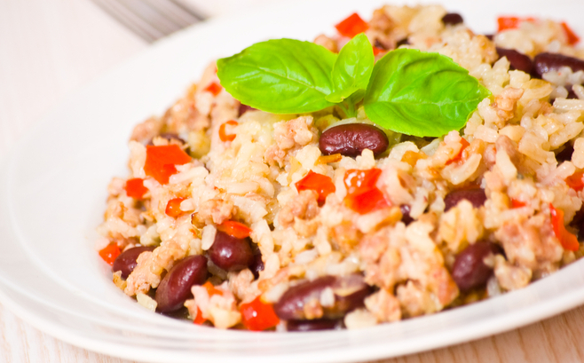 One-pot Mexican beans and rice